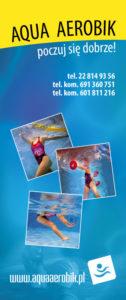 Reklama Aqua Aerobic