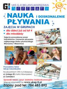 Reklama Pływalnia UKSG