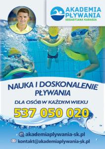 Reklama Pływalnia Rekinek