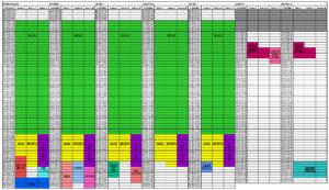 Grafik hali sportowej przy ul. Lindego od 14 do 31 października 2019