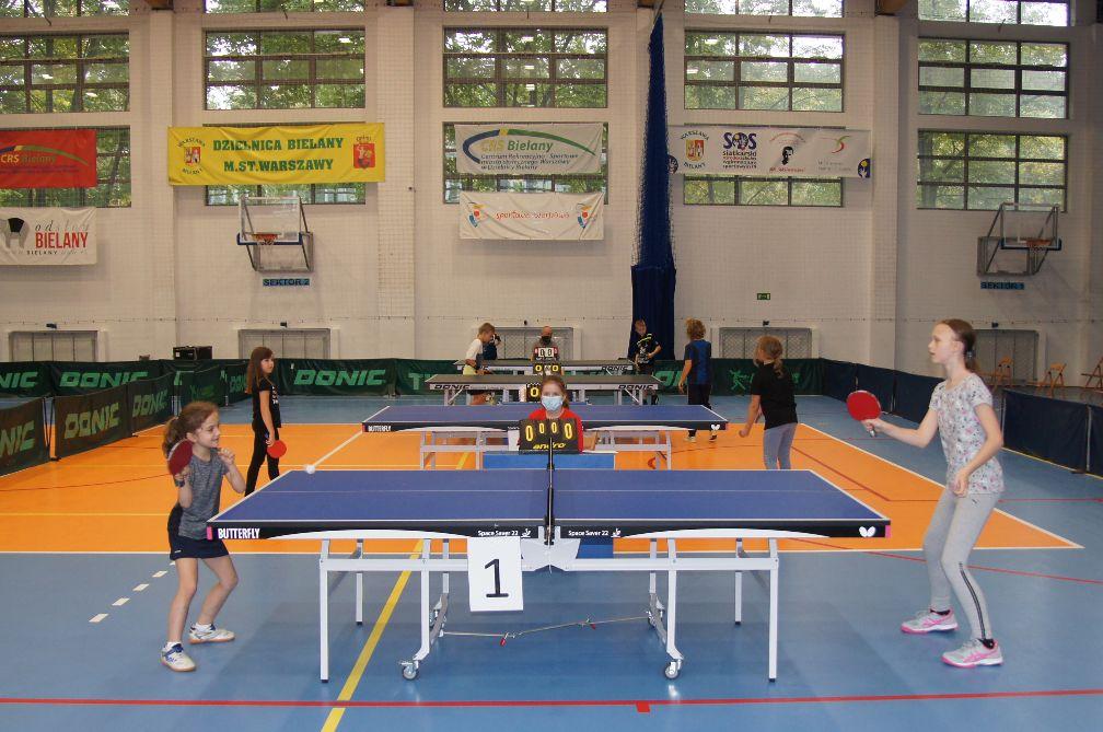 Jesienny Turniej w tenisie stołowym - zdjęcia z wydarzenia