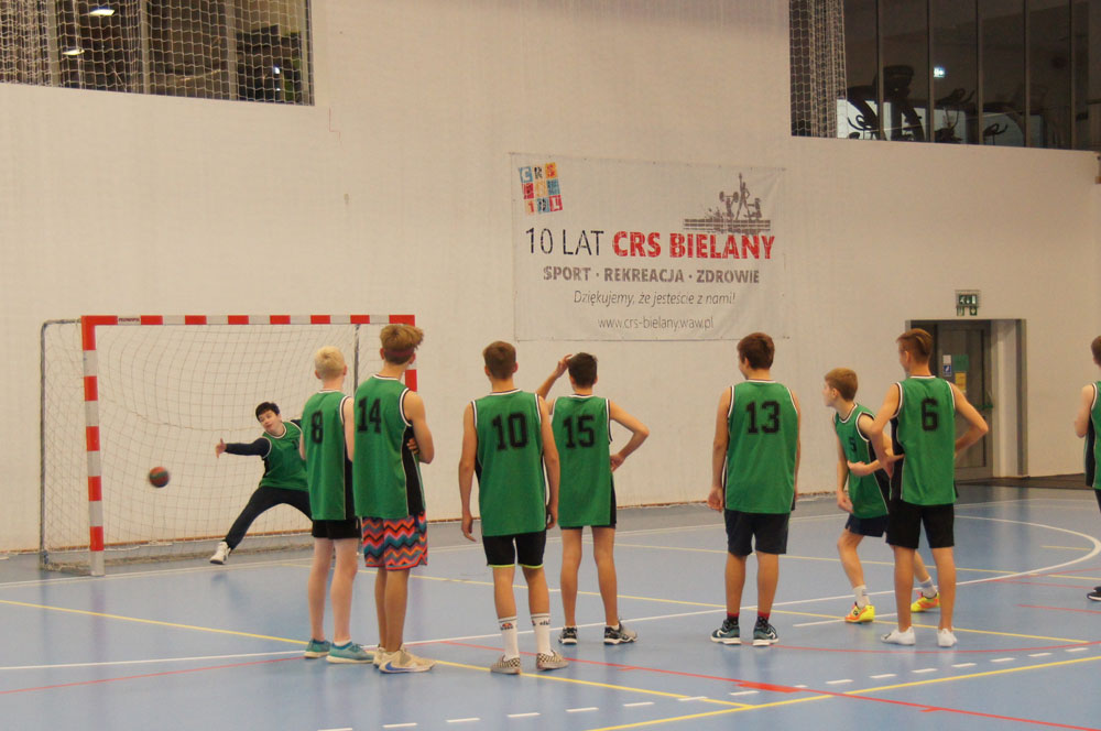 Piłka ręczna w CRS Bielany - zdjęcie z zawodów