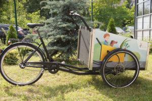 Fotografia roweru transportowego