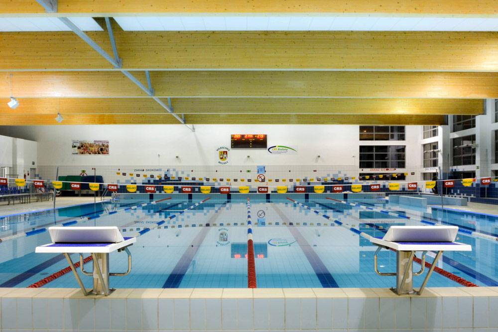 Fotografie pływalni przy ulicy Lindego 20
